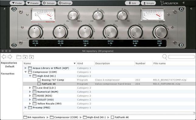 Acustica Audio - Nebula 4 - plugin, wtyczka, vst
