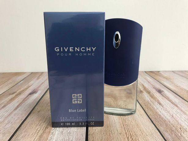 Мужская туалетная вода Givenchy Pour Homme Blue Label 100ml