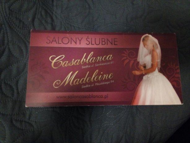 Bon na suknię ślubną