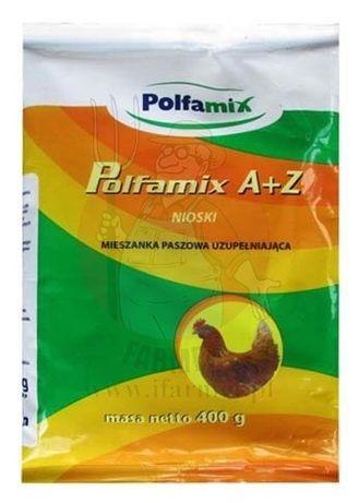 Polfamix A+Z 400g Nioski mieszanka paszowa uzupełniająca