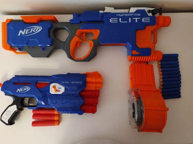 NERF --> Hyperfire ELITE/Dual-strike