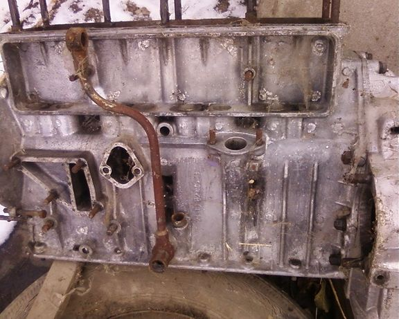 Блок двигателя ГАЗ 24 Д. 1970 г.в.