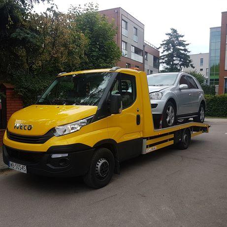TANIO! евакуатор Autolaweta Pomoc Drogowa 24h 100zł S8 trasa od 1,20