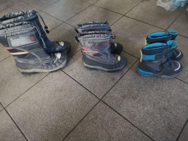 Buty dziecięce na chłopca