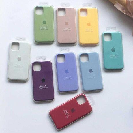 Capa de Silicone iPhone 6/6s/SE/7/8/SE2020/X/XS/11/12/Pro Max Plus