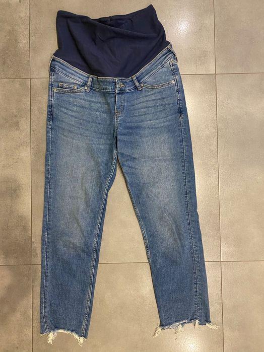 Jeansy ciążowe H&M niebieskie rozmiar S Lublin - image 1