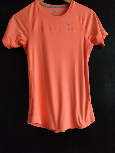 T-shirt Nike dri-fit S pomarańczowa neon