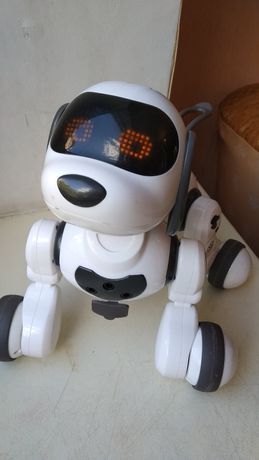 Интерактивная собака робот на аккумуляторе