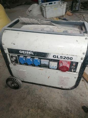 Agregat prądotwórczy Geisel GL 5200