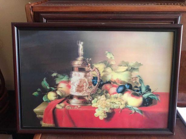 Картина с фруктами 3D