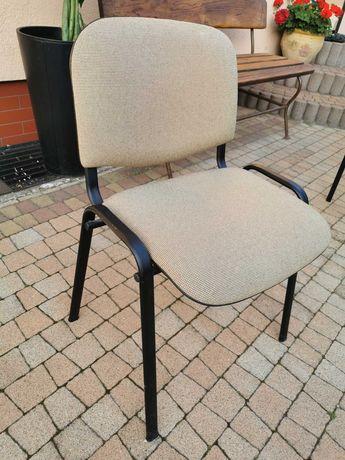 Krzesło biurowe beżowe