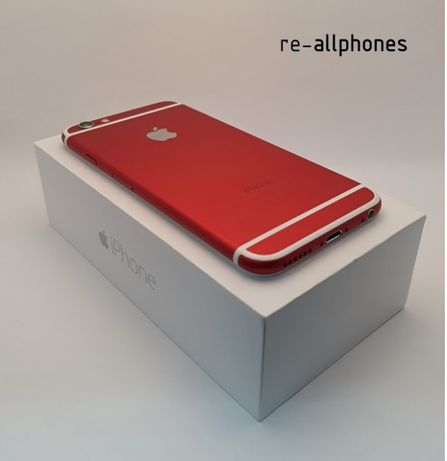 iPhone 6 16 GB Red-white (Personalizado, como novo)