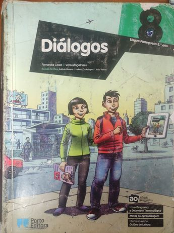 Livro de língua Portuguesa 8°ano Diálogos
