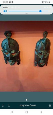 Sprzedam maski afrykańskie.DŁugość maski 24 cm.szerokość 14 cm.
