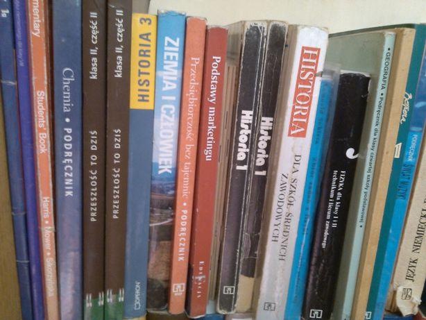 RÓŻNE KSIĄŻKI, również podręczniki szkolne ZOBACZ
