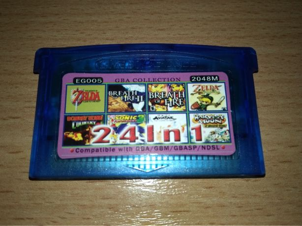 24IN1 Game Boy Advance Donkey Kong Lady Sia Zelda