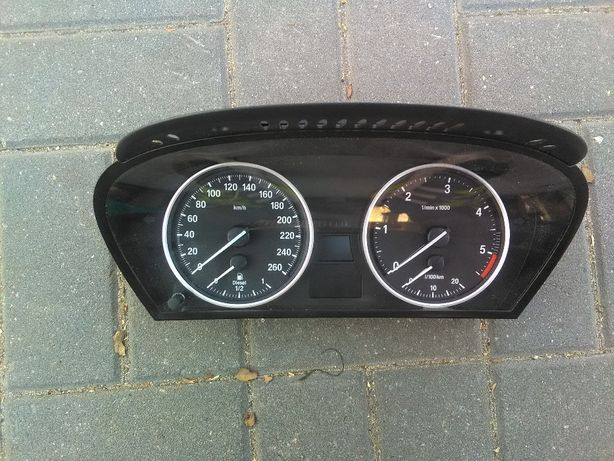 BMW E60 E61 diesel zegary licznik europa