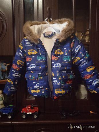 Деми куртка рост 110 см