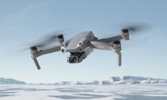 Wypożyczalnia dronów - Wynajem drona DJI Air 2s Fly More Combo