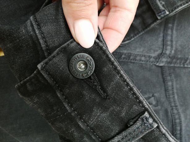 Jeansy Levis czarny jeans rozmiar 29 skinny