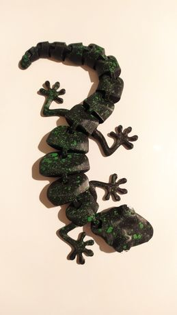 Ruchoma jaszczurka drukarka 3D