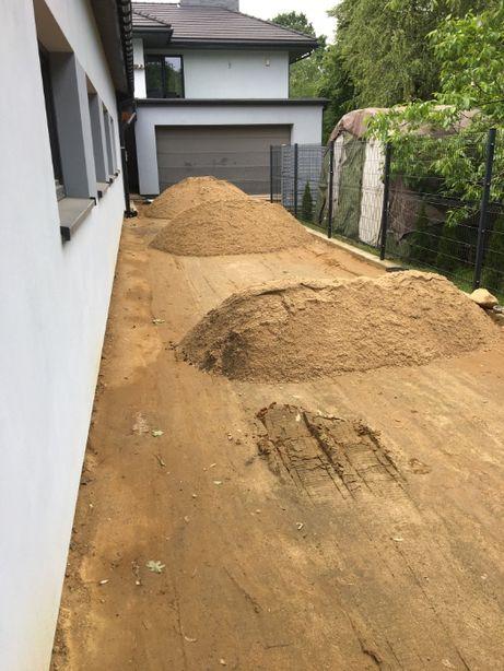 Pospółka podsyp piasek piach kruszywo na podbudowę