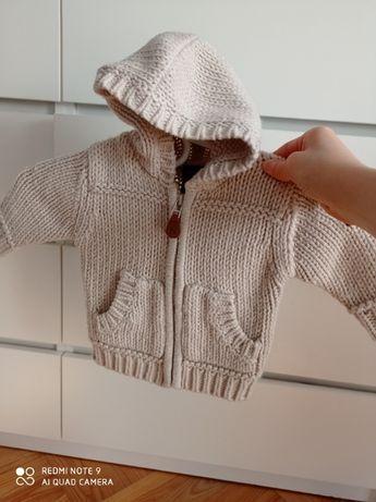 Piękny sweterek bluza, Next na 3-6mies.