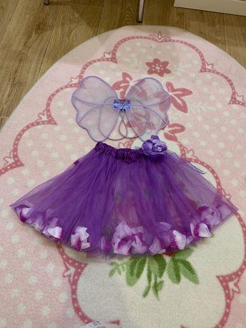 Костюм Феи или бабочки фиолетовый