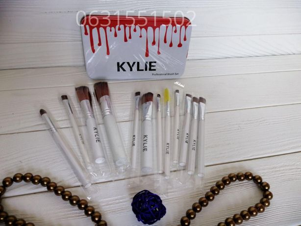 Набор кистей для макияжа Kylie Professional Brush Set 12шт,розница,опт