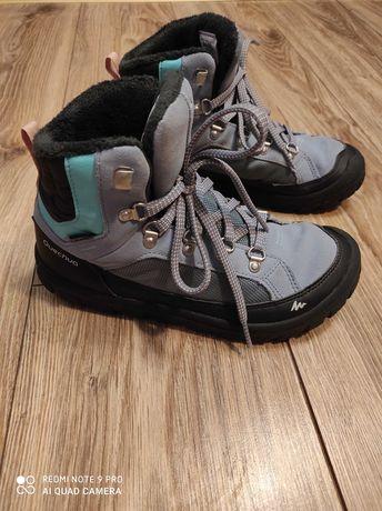Buty na zimę dziewczęce rozmiar 36