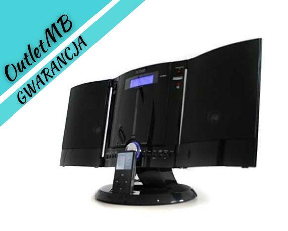 Mini wieża odtwarzacz CD MP3 Radio stacja dokująca iPod pilot 140704