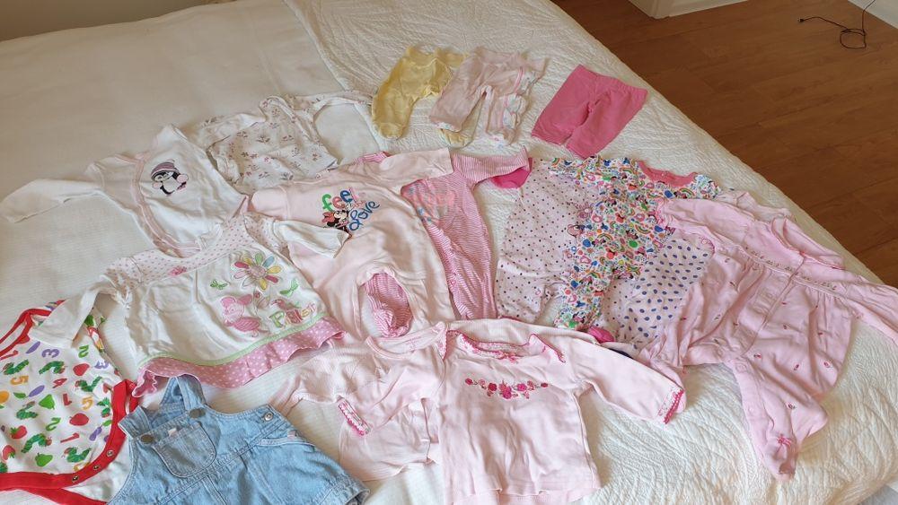 Ubranka dla dziewczynki 56 -62 cm. Katowice - image 1