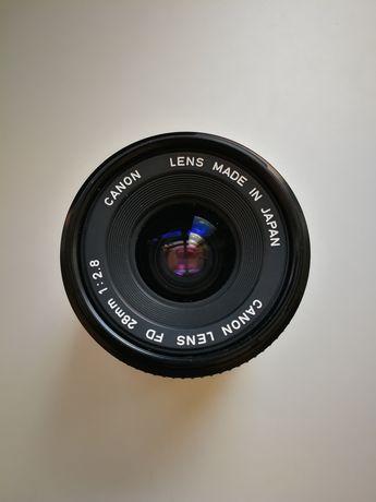 Lente Canon FD 28mm f2.8