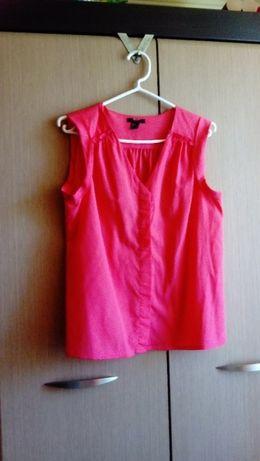 Neonowa różowa koszula