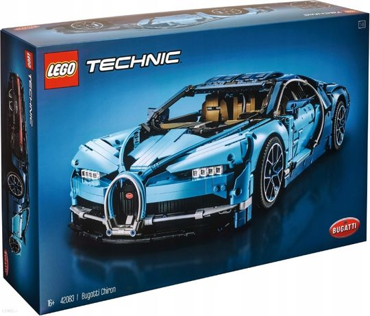 LEGO TECHNIC 42083 Bugatti Chiron Nowy Bydgoszcz