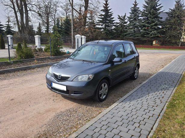 Mazda 2 MZI 1.4 2005r 1wł Klima Niski Przebieg Wspomag Elektryka Ładna