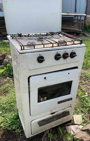 Газова плита!Все працює,духовка пече добре.