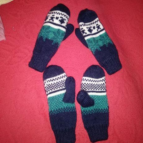 rękawiczki nowe 2 pary bliźniaki,bliźnięta,bliźniaczki,Reserved