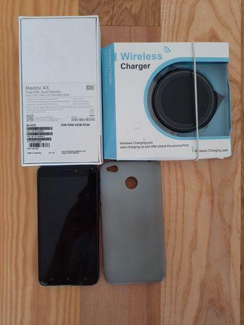 Smartfon telefon Xiaomi Redmi 4X 3GB/32GB czarny +GRATIS