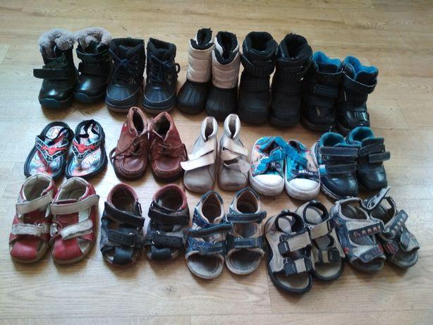 Обувь детская, на мальчика, ботинки сапожки, босоножки, сандали, кеды