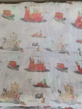 """Продам тюль """"Пираты"""" для детской"""