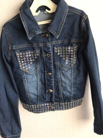 Джинсовая куртка детская, детская одежда, куртка подросток