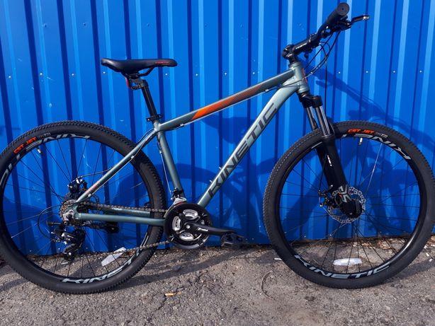 Новый алюминиевый велосипед kinetic storm 27.5