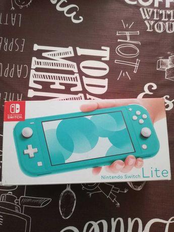 Nintendo Switch Lite com 3 jogos