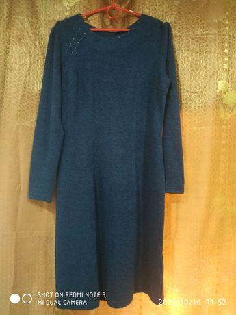 Женское платье теплое