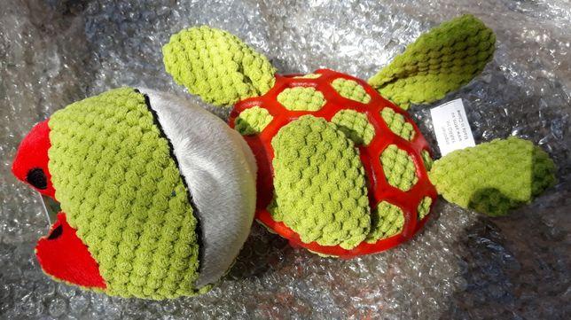 Zabawka dla psa pluszowy żółw