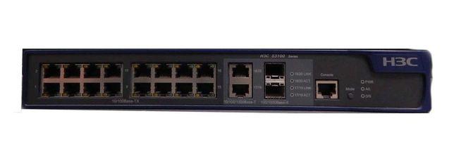 Switch 16 Ports H3C : S3100-16TP-PWR-EI - USADO