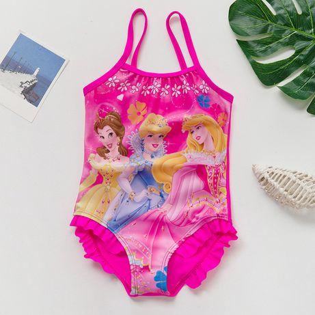 Яркий розовый купальник Принцессы Disney