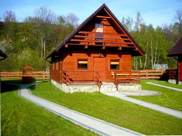 Domki letniskowe Brenna, Domek z kominkiem, Domki Drewniane