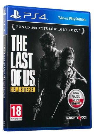 The Last Of Us Remastered PL (Gra PS4)